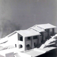 طرح پیشنهادی خانه های روی تپه