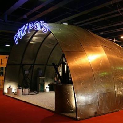 غرفه نمایشگاه لوله و اتصالات کارخانه پلی پارس