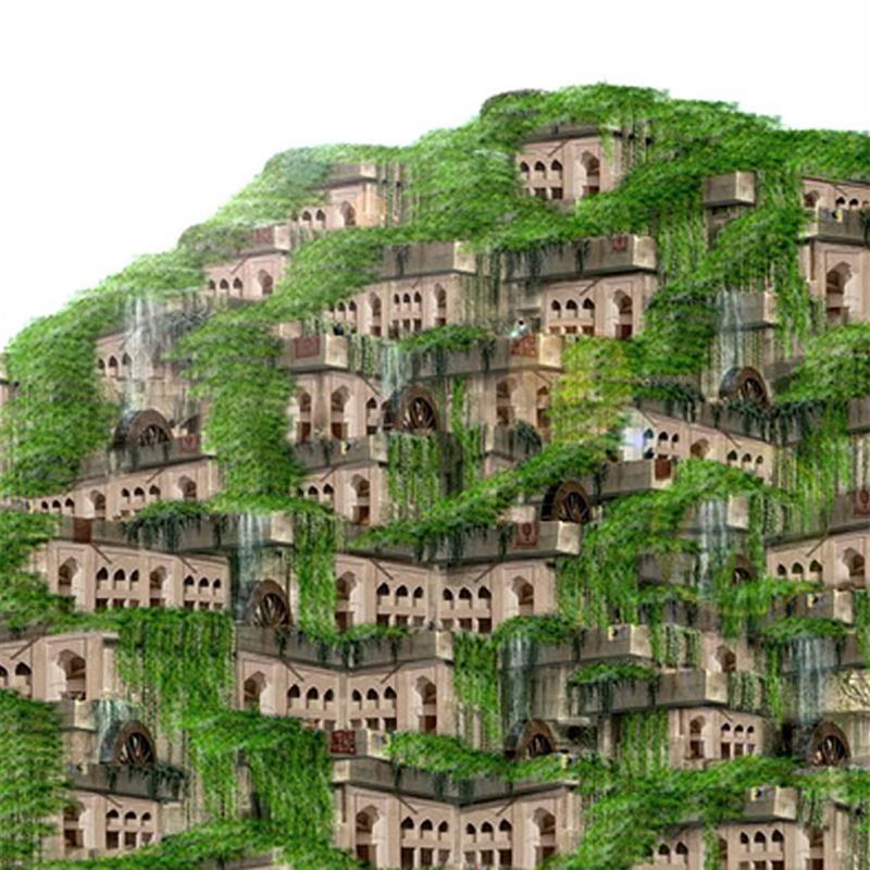 طرح پیشنهادی امیرحسین مستوفی زاده برای یازدهمین دوره جایزه معماری میرمیران (معماری پاسخگو)
