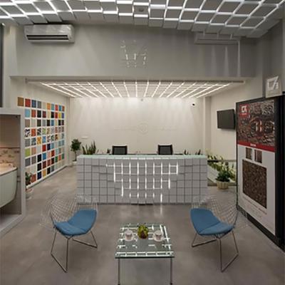 طراحی داخلی فروشگاه و شوروم مرکزی سرامیک البرز