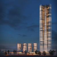 شعلۀ آبی: طرح پیشنهادی برای مسابقه بینالمللی طراحی ساختمان اداری شرکت ملی گاز ایران