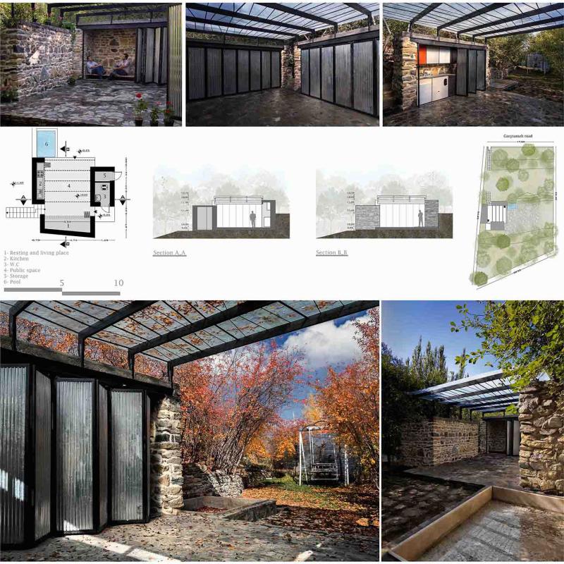 طرح پیشنهادی دفتر معماری موسوی و همکاران برای سیزدهمین دوره جایزه معماری میرمیران (معماری پویا)