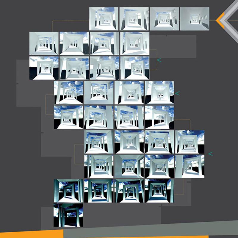 طرح پیشنهادی محمد حسن ماستری فراهانی و  زهرا دیندار برای هشتمین دوره جایزه معماری میرمیران (معماری و سینما)