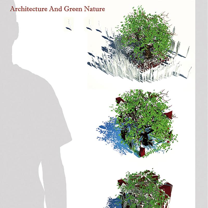 طرح پیشنهادی نادر نیک رفتار و  محمدرضا عباسپور برای پنجمین دوره جایزه معماری میرمیران (معماری و طبیعت سبز)