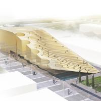 طرح پیشنهادی مهندسين مشاور نقش جهان ـ پارس برای مسابقه طراحی پاویون ایران در اکسپو 2015 میلان