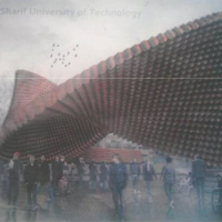 طرح پیشنهادی یاسر رحمانیان برای مسابقه طراحی معماری سردر دانشگاه صنعتی شریف