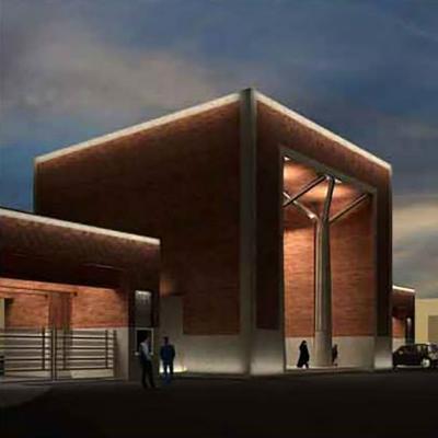 طرح پیشنهادی صالح حاج آقامیری برای مسابقه طراحی سردر دانشگاه صنعتی شریف