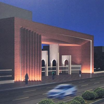 طرح پیشنهادی شهابالدین ارفعی (مهندسان مشاور ارگ بم کرمان) برای مسابقه طراحی سردر دانشگاه صنعتی شریف