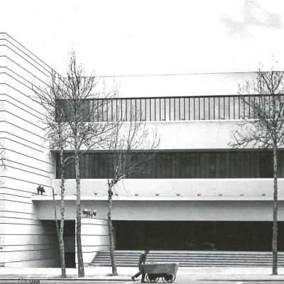 ساختمان بانک ملی شعبه دانشگاه تهران