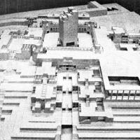 طرح پیشنهادی مهندسین مشاور باوند برای مسابقه معماری فرهنگستانهای جمهوری اسلامی ایران