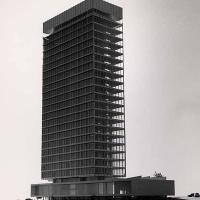 طرح پیشنهادی ساختمان اداری
