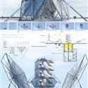 طرح پیشنهادی کیا تدین برای سیزدهمین دوره جایزه معماری میرمیران (معماری پویا)