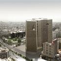 طرح پیشنهادی واو استودیو و الخاندو آراونا برای مسابقه بین المللی طراحی معماری ساختمان مرکزی بورس اوراق بهادار