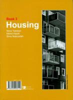 مجموعه کتب عملکردهای معماری – مجتمع اقامتی – کتاب سوم