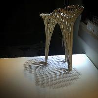 پروژه سه پایه برای اُبژه 1 (طراحی صندلی برای پروژه ویلای یک بازیگر)