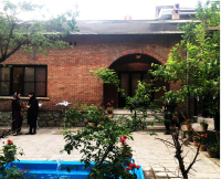 طرح مرمت و بازسازی خانه جلال و سیمین
