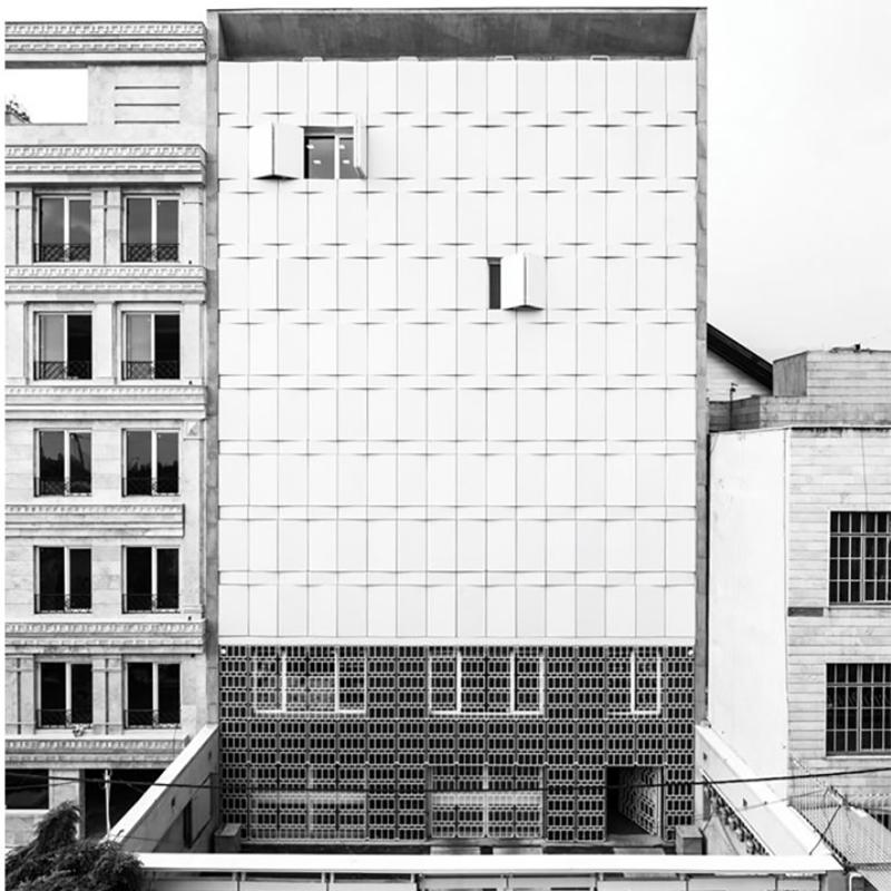 نمای نابینا (ساختمان اداری آبورزان)